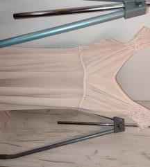 Bež roza haljina Bohoo