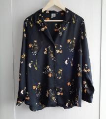 Crna cvjetna Asos košulja