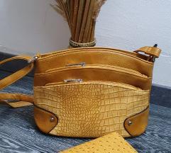 Novo torbica i novcanik u istom tonu