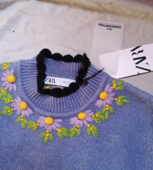 pulover vesta Zara L
