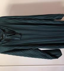 Zara plisirana haljina NOVO
