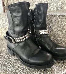 ❤️Kožne čizme-gležnjače AKCIJA 300kn