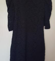 Crna uska kratka  haljina