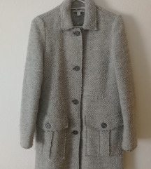 Zara sivi vuneni kaput