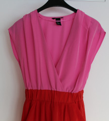 H&M color block haljina