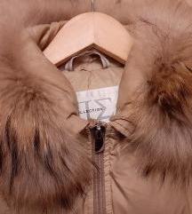 Piumino Siberiano topla jakna sa krznom M