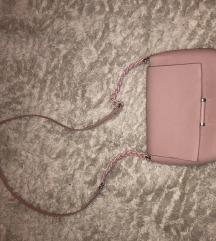 Bershka roza torbica