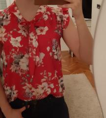 Šarena, cvijetna bluza S/M