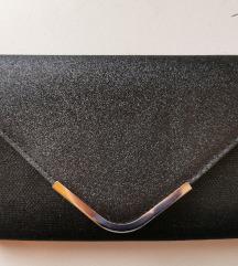 Crna torba sa šljokicama