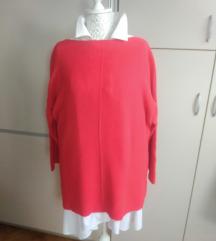 Crveni basic pulover