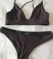 Smeđi kupaći kostim H&M