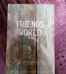 Friends World For Him toaletna voda