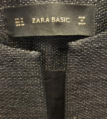 Sivi sako - kaputic,  Zara basic, M