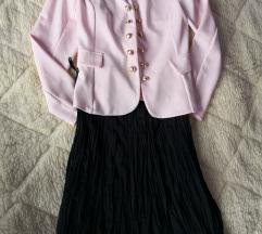NOVO Lot suknja+sako M