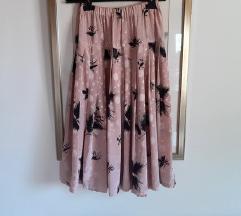 Leprsava roza suknja