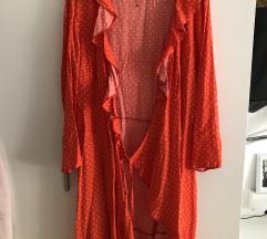 PRIMARK točkasta haljina na vezanje, N O V O