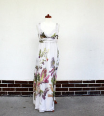 Zara svilena haljina