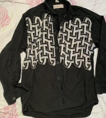 Vintage crna košulja XL