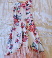 Lagana svečana cvjetna haljina SNIŽENJE