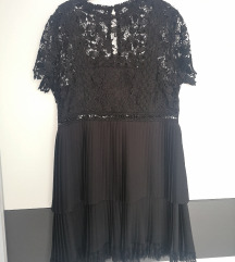 Zara haljina s čipkom