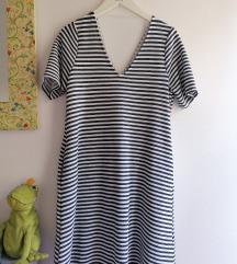 Reserved prugasta haljina