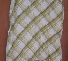 Pamucna karirana suknja