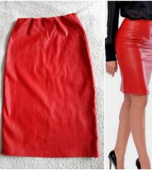 Kožna suknja ❣